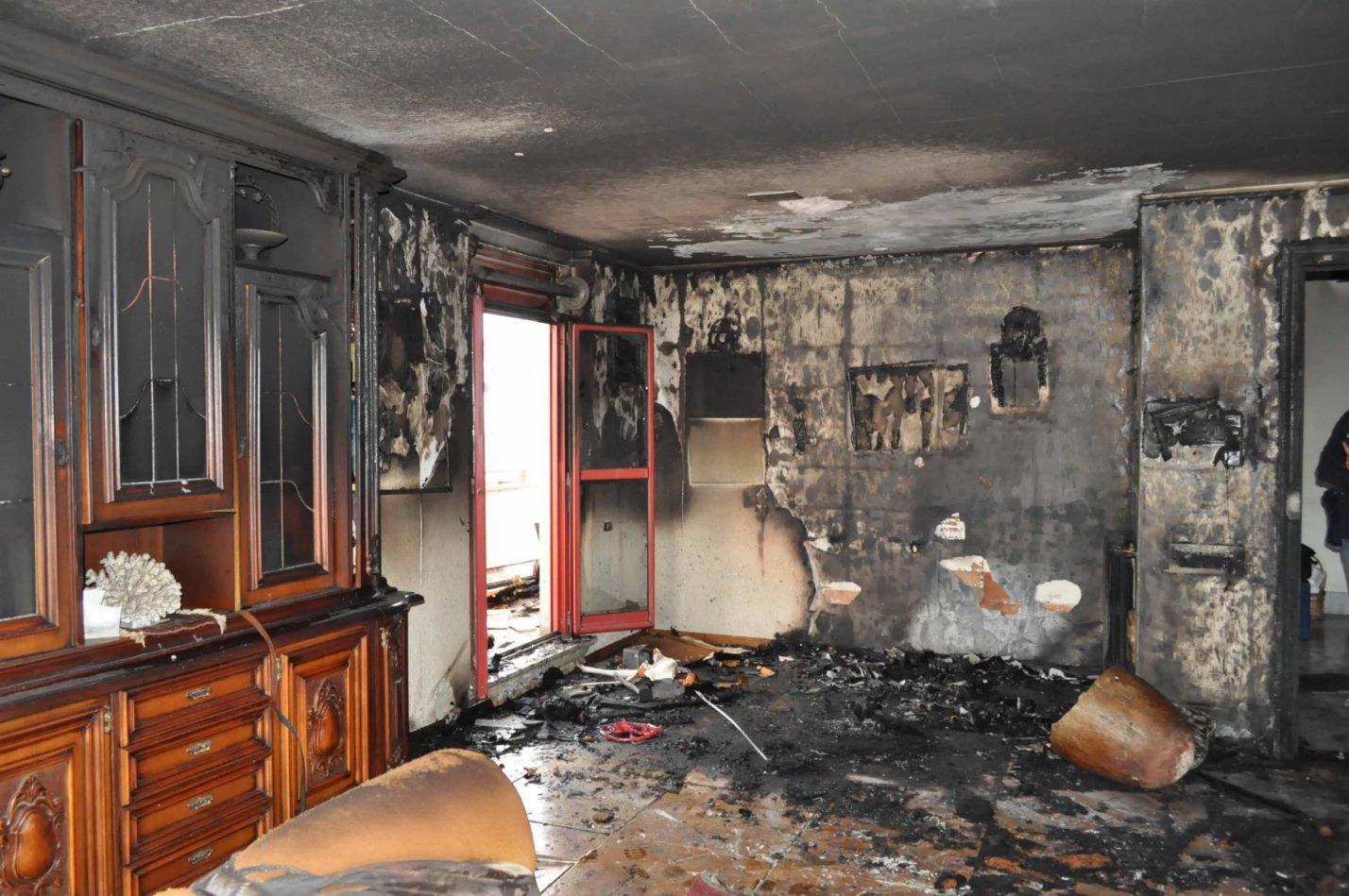 Ремонт после пожара